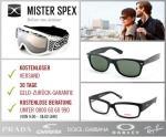 Ray Ban, Oakley, Prada und unzählige weitere Marken – Top-Brillen und Sonnenbrillen für Trend-Köpfe und jeden Anlass bei MISTER SPEX für 15 Euro statt 30 Euro