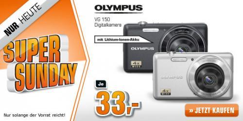 OLYMPUS VG 150 schwarz 12MP 4-fach opt. Zoom @Saturn