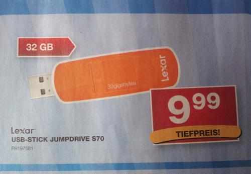 Lexar 32 GB USB-Stick bei Staples für 9,99€