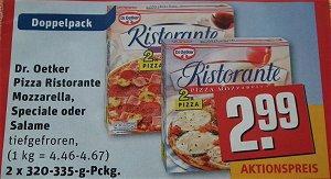 [Offline] REWE: Pizza Dr. Oetker Ristorante *Doppelpack*