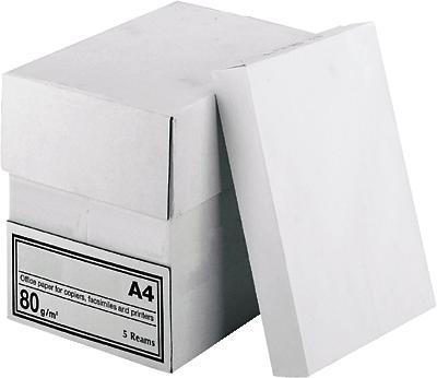 Kopierpapier Set Papier 5 x 500 Blatt, DIN A4, 80 g/m², 2500 Blatt - Conrad