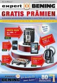 [Offline] Expert-Bening Gratis Zugabe bei Käufen ab 299€ z.B. Galaxy Tab,  DeLonghi Vollautomat e.t.c.