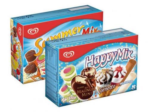 LIDL (bundesweit): Langnese Summer Mix oder Happy Mix je Packung nur 1,99 Euro