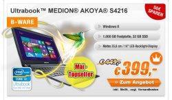Laptops Schnäppchen-Alaaaarm – einfach schnell zugreifen @Medion