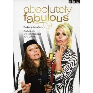 @Amazon; Absolutely Fabulous - Die komplette Serie (Season eins bis fünf - 7 DVDs) - Collector's Edition