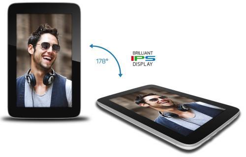 Odys Genio 7'' Tablet, IPS Display, 1.6 GHz Dual Core, Micro-SD, 1 GB RAM, 8 GB Speicher, Bluetooth, WLAN, HDMI, Android 4.1 für 99 Euro @ Amazon | 78,21 Euro im Warehouse