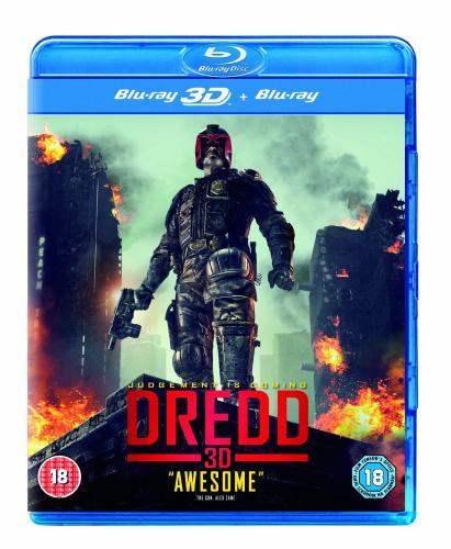 Dredd (Blu-ray 3D + Blu-ray) - Originalton für rund 10€