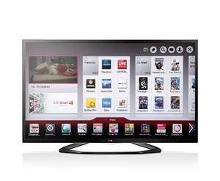 LG 55LA6408 139 cm (55 Zoll) Cinema 3D LED-Backlight-Fernseher, EEK A+ (Full HD, 200Hz MCI, WLAN, DVB-T/C/S, Smart TV) schwarz Bei Real für 1099,00 €