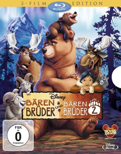 Brother Bear 1 + 2 Blu-ray für 18,99 € @ amazon.de