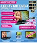 Grundig Vision 4 32-4931 T 81,3 cm (32 Zoll) HD-Ready LCD-Fernseher mit integriertem DVB-T Tuner schwarz