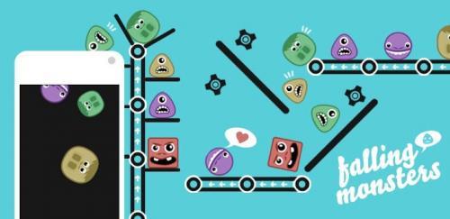 Gratis Iphone Spiel für Kinder und Erwachsene : Falling Monsters