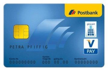 Komplett kostenloses Postbank Girokonto eröffnen 3M. lang 6 Buchungen je Monat durchführen und 50€ erhalten!