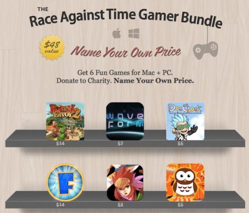 MAC & PC: Race Against Time Gamer Bundle von Stacksocial mit bis zu 6 Spielen zum selbst bestimmten Preis