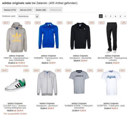 Über 1.000 Adidas (Originals, Performance, Sailing, SLVR, Golf) Produkte um teilweise 50% reduziert | z.B. TREFOIL - Kapuzenpullover - grau meliert/gelb 31,95€ statt 64,95€  bei Zalando *Update auch Nike & Puma*