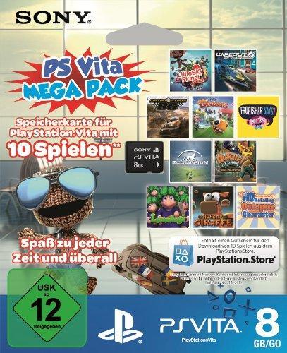 Sony Playstation Vita™ - 8GB Speicherkarte + 10 DL Spiele (PlayStation Store) (Pre-Order) für €39,99 [@Amazon.de]