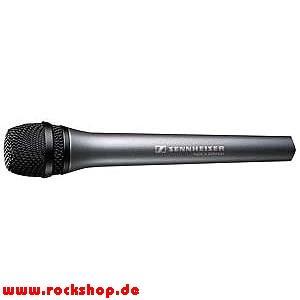 "Reportermikrofon Sennheiser MD 46 bei ""Rock Shop"""