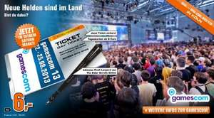 Gamescom 2013 Tickets für 6€