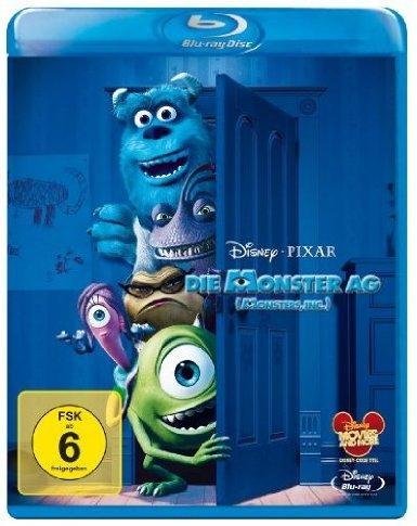 Die Monster AG Blu Ray