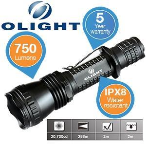 Olight M21X-L2 Warrior - LED Taschenlampe mit 750 Lumen für 49,95€ + 5,95€ Versand @iBOOD