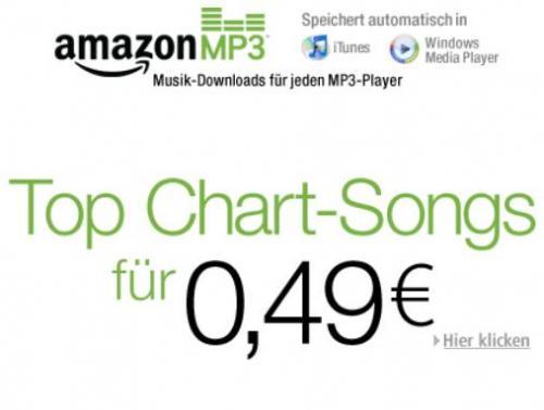 Osterüberraschung: kurzzeitig Top-Chart-Tracks für 49 Cent bei Amazon.de