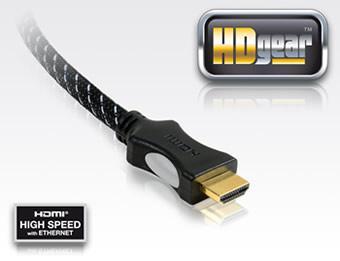 PureLink HDgear 2- HDMI - HDMI v1.4 24kt Gold Kabel