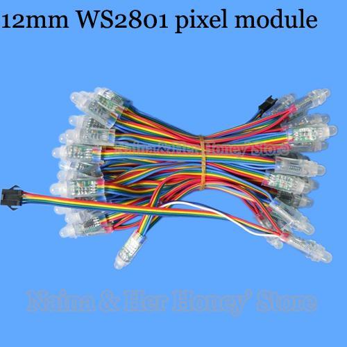 LED WS2801 100 Stück für AmbiPI oder ähnlichen Projekten