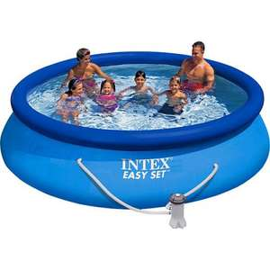 "Intex ""Easy Set"" Quick-Up Pool mit Filter, Maße: ca. 366 x 76 cm (@praktiker.de) 54,94 €"