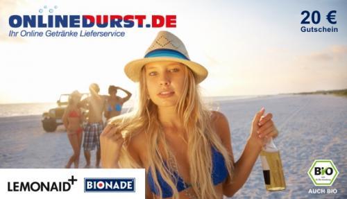 20 Euro-Gutschein von OnlineDurst.de für nen Zehner
