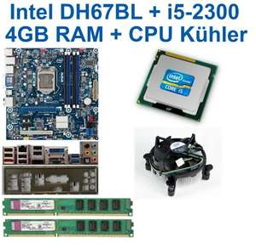 Aufrüstpaket (Intel i5-2300 mit 4x 2,8Ghz, 4GB DDR3 , Intel-Mainboard mit USB3.0, SATA 3, 4x DDR3) gebraucht @ ebay (reconnectde)
