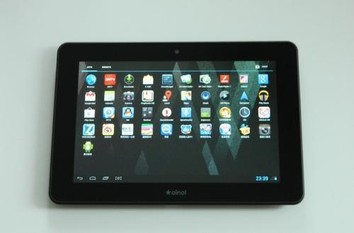 Tablet Ainol Novo 7 Venus Quad Core mit Leder-Case