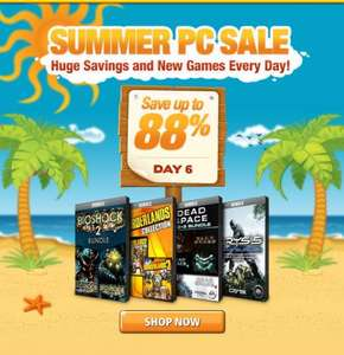Gamefly Summer PC Sale Bundles: Crysis, Dead Space, Bioshock, Borderlands, Total War