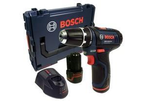 Bosch GSR 10,8-2-Li Akku-Bohrschrauber inkl. 2 x 2Ah Akkus, Ladegerät, L-BOXX und Holster für 113€