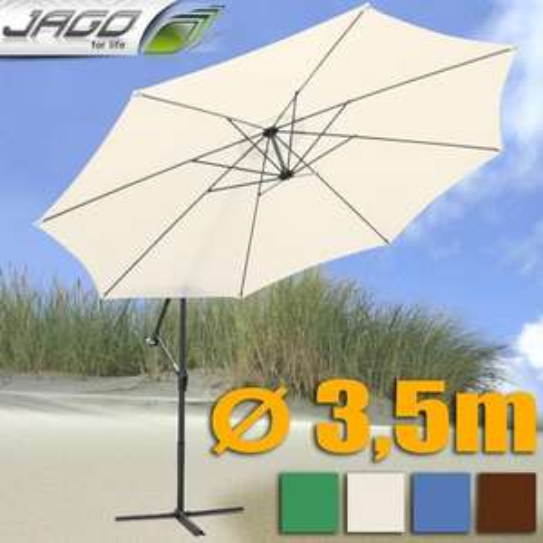 3,50m Ampelschirm Sonnenschutz