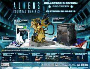 PS3 - Aliens Colonial Marines - Collector's Edition (NEU & OVP) USK18
