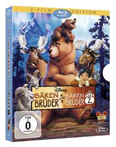 Bärenbruder 1+2 / Bernard & Bianca 1+2 [BluRay] für 17,99 € @ amazon.de