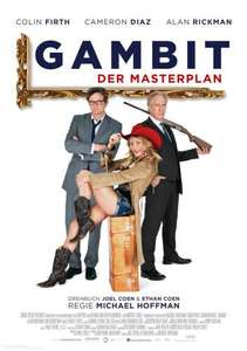 """[LOKAL Husum, Halberstadt, M'Gladbach, Saarbrücken, Donauwörth] Am 17.06.2013 20:00 Uhr für 0,50€ zu zweit ins Kino zu """"Gambit - Der Masterplan"""""""