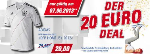 DFB Heimtrikot 2012 bei Intersport für 20€ nur Morgen!!!