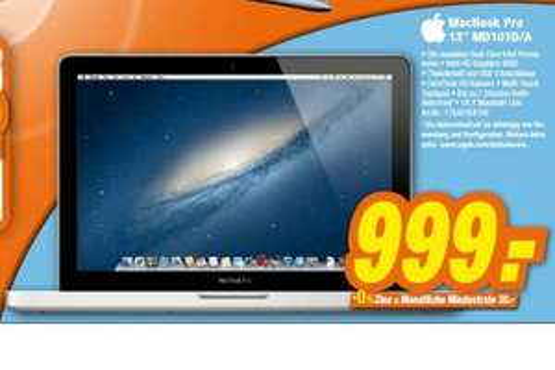 "Apple MacBook Pro 13"" MD101"