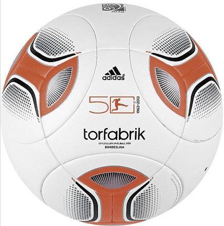 Adidas DFL Spielball Torfabrik OMB 2012/13, Gr. 5 ab 50€ @Karstadt