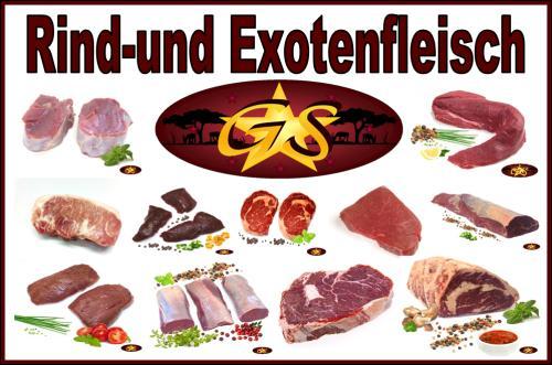 Exotische Grillparty?  Probiersortiment verschiedene Fleischsorten 2kg