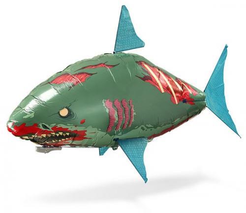 Fliegender Zombie-Hai (Fernsteuerbar, muss mit Helium gefüllt werden)