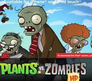 [IOS] IGN Free Game of the Month Plants vs. Zombies kostenlos