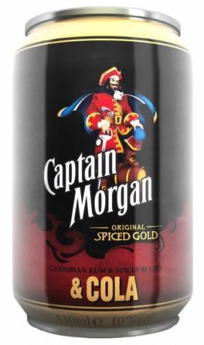 Kaufland - Captain Morgan & Cola 6x0,33l ab Montag (10.06.13)