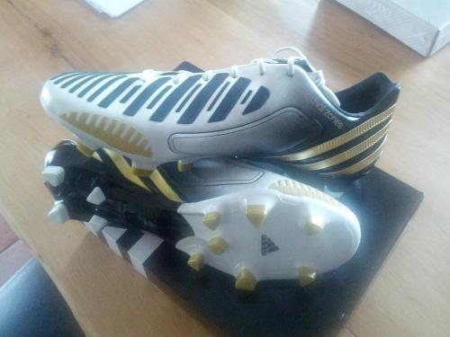 [mysportworld] Adidas Predator LZ TRX FG weiß-schwarz-gold UVP: 219€