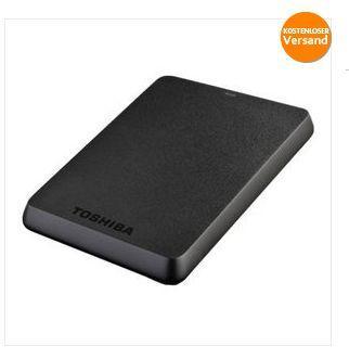 "Toshiba StorE BASICS 1000GB externe Festplatte 2,5"" (6,3cm) USB 3.0 1TB 59,99€ inkl. Versand"