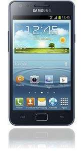 "Samsung Galaxy S II Plus I9505 Dual-Core 1,2GHz 4,3"" blue gray inkl. Vsk @Base"