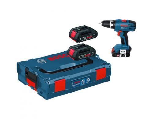 Bosch GSR 18 V Li-2, L-Boxx, 3 x 1,3 Ah (MeinPaket, nur mit Gutschein und Cashback), idealo 186,60 €