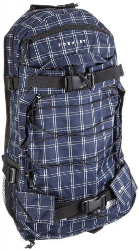 FORVERT Backpack New Louis, black white checked