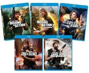 [Amazon.com] The Ultimate Chuck Norris Blu-ray Bundle - BluRay