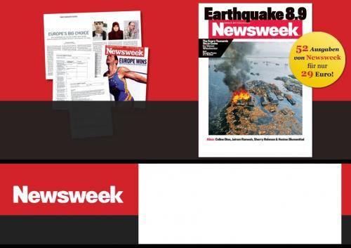 Newsweek Jahresabo mit 50 % Rabatt -  statt 59 € nur 29 € - englisches Nachrichtenmagazin